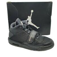 Nike Air Jordan Flight Club 90s FLTCLB Uk 4 Black White Air Sole Boxed Vgc