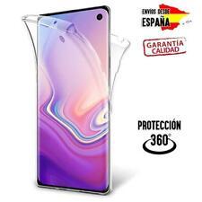 Funda 360 de gel silicona TPU para Samsung Galaxy S10e S10 S10 Plus transparente