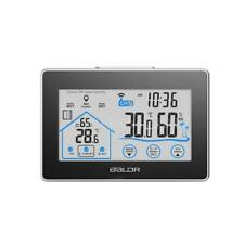 Wireless Indoor Outdoor Digital Weather Station Clock LCD White Backlight C2E7
