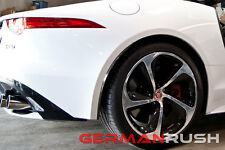 GR Rear Side Splitters Carbon Fiber Jaguar F-Type 2014-2016