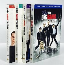 The Big Bang Theory: Seasons 1-4 (DVD, 2011, 4-Disc Set)