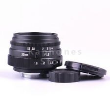 Mini 35mm F1.6 APS-C Television TV Lens/CCTV Lens For 16mm C Mount Camera
