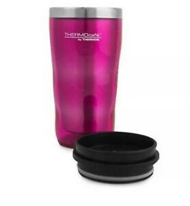 PINK THERMOS Double Wall 470ml S/S Inner Insulated Travel Tumbler - NWT