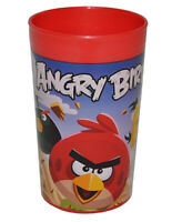 Angry Birds 3 IN 1 - Gobelet / Gobelet à Dents/Malbecher - Gobelet Verre à Boire