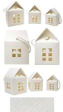 Ivory Paper House Gift Box Set (3 Box Set - Small, Medium, and Large)