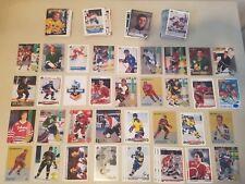 Lot 100+ Hockey Rookies w/Thornton, Pronger, Nylander, Koivu, Cleary, Falloon +