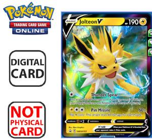 Jolteon V Ultra Rare Pokemon TCG Online Digital Card SWSH Promo SWSH151