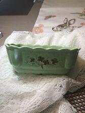 Vintage Green California pottery planter Lane Company 1960 495 USA Farmhouse