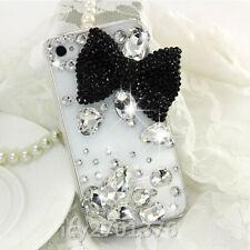 Handmade Luxury Glitter Diamonds bowknot Soft back Phone Case Skin for Xiaomi