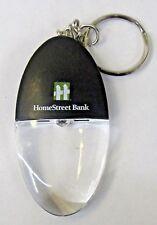 HOMESTREET BANK flashlight Keychain Keyring Key ring
