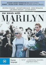 My Week With Marilyn - Drama / True Story - Michelle Williams - NEW DVD