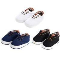 Newborn Baby Boys Girls Soft Sole Crib Shoes Warm Shoes Anti-slip Sneakers 0-18M