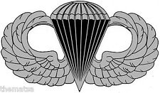 "ARMY AIRBORNE PARATROOPER 4"" HELMET TOOLBOX CAR BUMPER STICKER DECAL MADE IN USA"