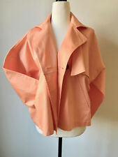 Obus Bright Oversize Jacket Orange Cotton Great Condition Easy Fit s8-12