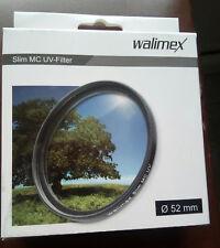 FILTRO WALIMEX UV 52 SLIM MC COLOR REAL PARA OBJETIVO CAMARA REFLEX