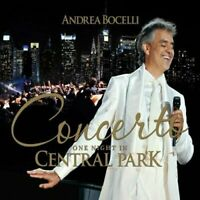 ANDREA BOCELLI Concerto One Night In Central Park CD BRAND NEW