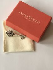James Avery Retired Sterling Silver Key Pin