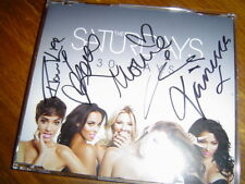 the saturdays - 30 days limited edition uk cd single - hand signed