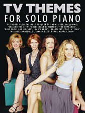 TV Themes For Solo Piano Learn to Play Eastenders Moonlighting Music Book SONGS
