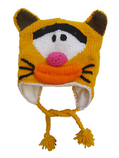 WHOLESALE LOT OF 10 CARTOON ANIMALS EARMUFFS HAT CAP FOR KIDS & TEENAGERS