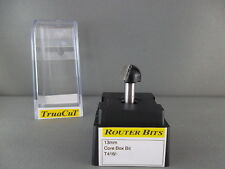 Router Bit- 12.7mm CORE BOX Bit 2 flute T416 (TruaCuT)