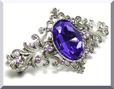 Luxus HAARSPANGE mit Swarovski Kristall NEU +++ TOP