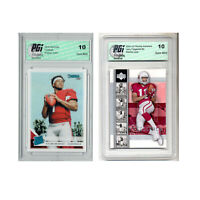 2) Larry Fitzgerald 2004 Upper Deck Kyler Murray Donruss #302 Rookie Card PGI 10