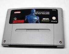 Super Nintendo juego Game módulo SNES-Rise of the robots