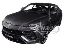 LAMBORGHINI URUS METALLIC GRAY 1/18 DIECAST MODEL CAR BY BBURAGO 11042