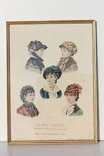 REPRODUCTION ENCADREE SOUS-VERRE - LA MODE ILLUSTREE 1881 N° 49 - 37 x 27 cm