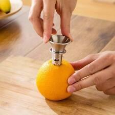 Manual Stainless Fruit Juicer Tool Orange Citrus Lime Lemon Juice Squeezer Maker