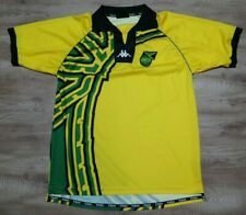 Jamaica Soccer Jersey Football Shirt Kappa 100% Original 1998 World Cup XL USED