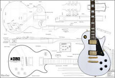 Gibson Les Paul® Custom Electric Guitar Plan
