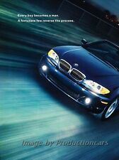 2003 BMW 325Ci Convertible 2-page Advertisement Print Art Car Ad J854