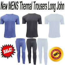 Mens Thermal Trouser Tshirt + Long John Warm Underwear Baselayer S - XXL Thermal