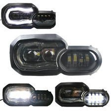 Led Headlight with Angel Eye DRL Replacement Light For BMW F650GS/F700GS/F800GS