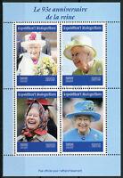 Madagascar 2019 CTO Queen Elizabeth II 93rd Birthday 4v M/S Royalty Stamps