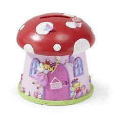 Beautiful Toadstool Shaped 'Fairy House' Money Box for Children - Lucy Locket
