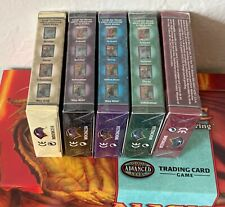 5 Preconstructed Theme Starter Deck box MTG 7th edition Magic Booster