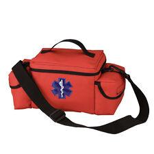 EMS EMT Paramedic ORANGE Rescue Medic Medical First Aid Go Fly Response Bag Kit