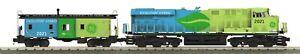 O-Gauge - MTH - G.E. Evolution ES44AC Imperial Diesel Freight Boxed Set #2021