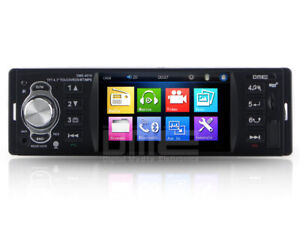 "Autoradio 1 din 4.1"" TFT touchscreen 64GB USB+SD Mp4 1080p RDS AUX-IN Camera"