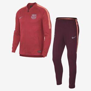 NIKE FC BARCELONA 18/19 TRAINING SQUAD FOOTBALL TRACKSUIT (894341 691) SIZE S-XL