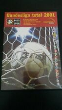DVD - Bundesliga Total 2001 - 2 DVD - SET from 2000/2001 in Germany - 4 Hours.