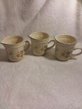 Vintage International Stoneware Marmalade Goose Mugs- Set Of Three- Japan