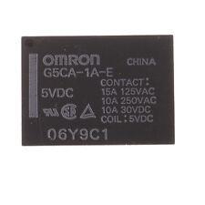 Omron G5CA-1A-E DC5 Monostabiles Relais Printrelais 5VDC 2,5 KVA 4Pin