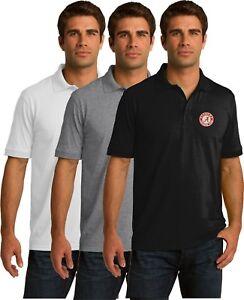 Alabama-Crimson-Tide-NCAA-- Polo Golf Shirt - Embroidered