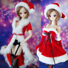 New Sexy Sweet Christmas Dress/Cloak/Suit(8pcs) For 1/3 SD SD13 DD BJD Clothes