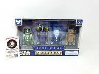 Star Wars Celebration Disney Parks Droid Factory 4 Pack R5-013 R2-C2 R5-S9 R5-P8