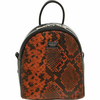 OSPREY LONDON  Black Leather Gabrielle Backpack rrp: £185, new